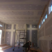 Sentinel Road, Herne Bay - Plastering, Level 4 Finish. Stage 2