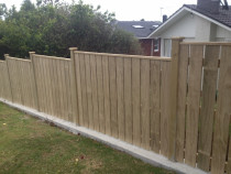 Gauged Capped fence by Absolute Fencing - Gauged Capped fence with 20mm gap