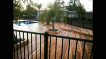 200sqm watershed vitex deck almost finished