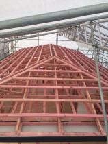 Roof framing 23 Luckens Road