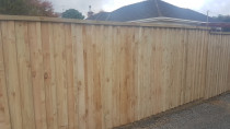 Fence with battens - AJ & SJ Contractors