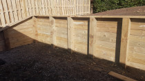 Retaining wall - AJ & SJ Contractors