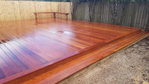 Kwila Decking by AJ & SJ Contractors