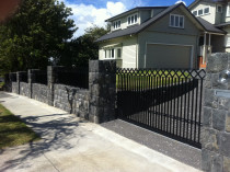 steel slider and fencing
