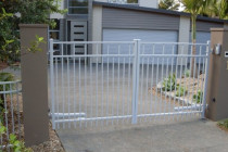 Gate Automation - Simple - Gives the security of gates always being closed for kinds and pets. Also keeps you dry in the rain!