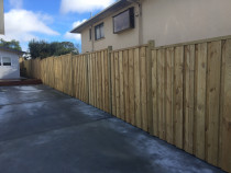 All Round Construction Ltd - Fence - Pine fence done by All Round Construction.