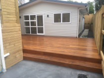 All Round Construction Ltd - Brand new two bedroom unit - Two bedroom unit ,bevel back weatherboard colour steel roof.