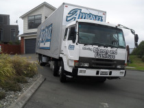 Four Bedroom Right December - Amoova truck looks as big as a house