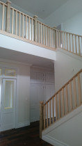 AMW Builders Ltd - Norwood Job - entrance and Internal stair