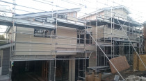 AMW Builders Ltd - Kiroff project - cladding progress