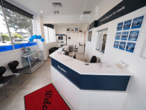 Anzac Automotive/Bosch Car Service Reception - Anzac Automotive customer waiting area and service reception