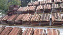 Apex Roofing Services Ltd - Clay Tile Extension (mid job)