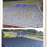 Roof restoration by Asset Property Services Ltd