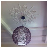 Ceiling decorating by Asset Property Services Ltd