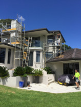 Huge exterior repaint in Albany by Atlantic Painting Ltd