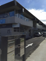 Takapuna office block, complete exterior repaint by Atlantic Painting Ltd