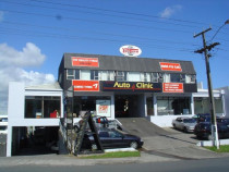Front of our building at 291 Church St - We are easy to find - click for a map at www.autoclinic.co.nz or head from onehunga mall along church st from the manukau harbour end towards penrose and you\'ll find us just after mays rd on the right.
