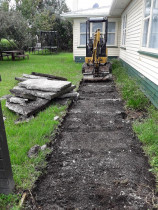 ACE Earthworks - Concrete removal