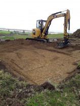 ACE Earthworks - Ground Prep - Waipu - ground prep for Water Tank Installation