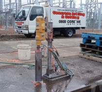 Drilling - Floor drilling or Wall drilling no problem , you name the size up to 400mm Dia , we can drill as much as 2 metres deep