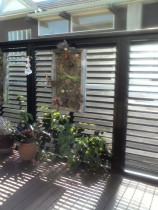 Fixed louvre fence panels - High quality - custom made