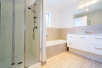 customised economy bathroom by Bathrooms in Auckland Ltd