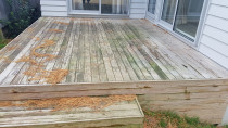 tired looking deck