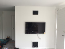 Home theatre completed by Ben Cable Electrical Limited