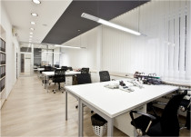Commercial lighting installation - Blink Electrical