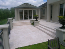 Travertine Marble by Brett Sosich Tiling Ltd