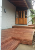 Entrance decking by Buildmate Limited