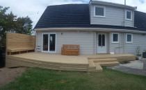 Bi ford doors and decking project b Buildmate Limited
