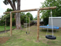 Kids Play ground job in Hillcrest. by Built Rite Construction 2010 Ltd