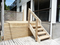 Small Deck & Stairs project - Browns Bay by Built Rite Construction 2010 Ltd