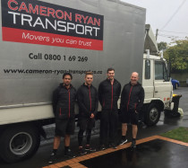 Cameron Ryan Transport | Rainy days - no problem - We move in all seasons, if its safe to proceed, we will.