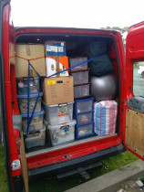 Cameron Ryan Transport | Van load - How much can you fit in a van? - this much!