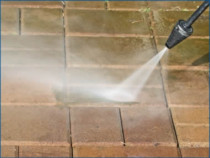 Waterblasting - We can Water-blast your Decks, Paths and Driveways making them look cleaner and help you avoid nasty falls