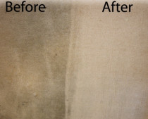 Before and After Carpets - We can improve the look of your carpets making them feel softer, cleaner and healthier.