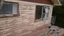 This sould have been done earlier, but with a lot of sanding and elbow greese....