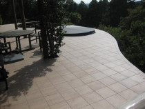 curving deck - Lovely natural deck rebuild