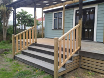 New Deck addition by CN Builders - Vitex decking