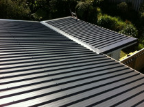 New roof installed - Colorsteel Endura .55g