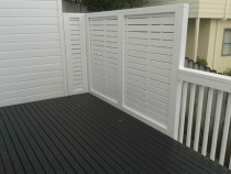 Heavy duty privacy screens  - Concept Decks and Fences
