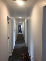 Connect Electrical 2015 Ltd - Cambridge Renovation - - New LED down lights to freshen up the hallway