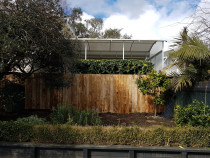 Mt eden fence - Constructive Solutions North Island Ltd - A simple but effective fence in mt eden
