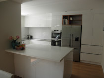 New bespoke kitchen.