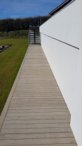 Pine walkway done by DECKHQ