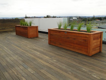 Kwila planter boxes by DECKHQ
