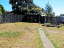 Before excavation, retaining wall and lawn by Dingo Groundworx Limited - Before excavation, retaining wall and lawn