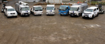 The Discount Drainage Fleet - Our Fleet of vehicles ready to get to work!